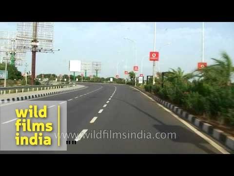 Hyderabad airport road