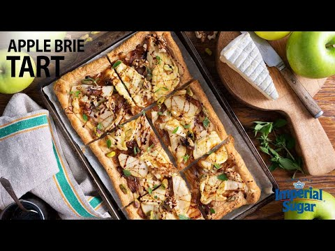 brie and pepper tarts