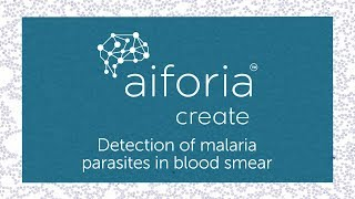 Aiforia Create - Detection of Malaria Parasites in Blood Smear