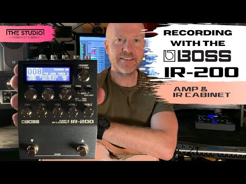 Recording With Boss IR-200