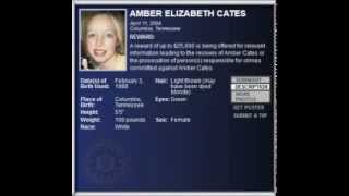 FBI Wanted - AMBER ELIZABETH CATES - ($25.000 Reward) Kidnappings & Missing Persons