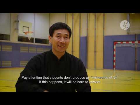 006 - Master Chen Bing:  What the difference between Taijiquan and Qigong?