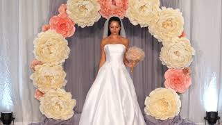 Stunning Designer gowns on stage at Bridal Spectacular Las Vegas
