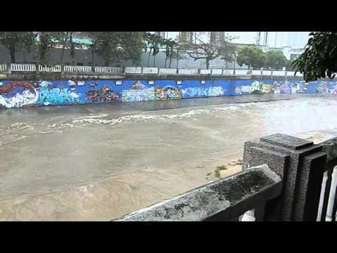 River of Trash: Kuala Lumpur Malaysia