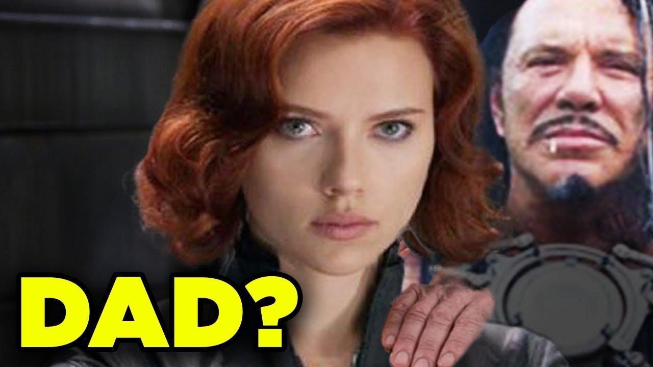 Black Widow Father Ivan Vanko Natasha Origin Theory Inside Marvel