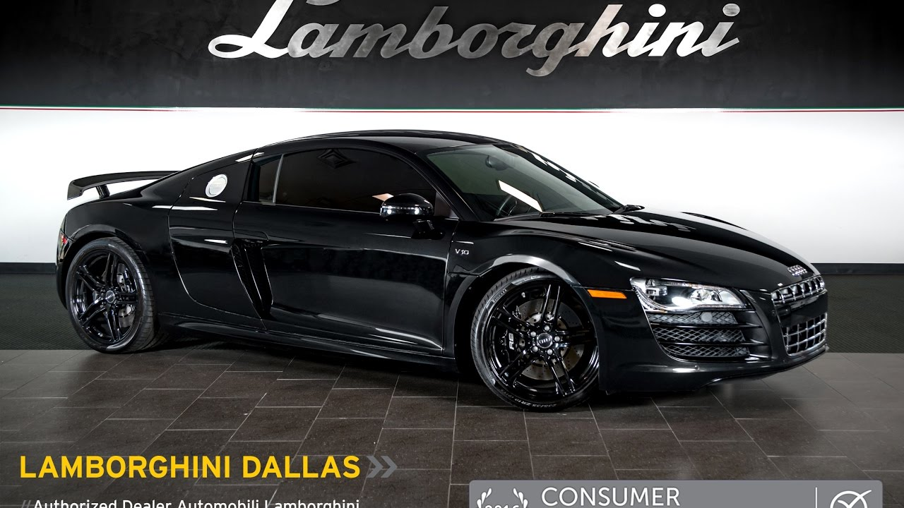 2011 Audi R8 V10 Black Pearl LT0981 - YouTube