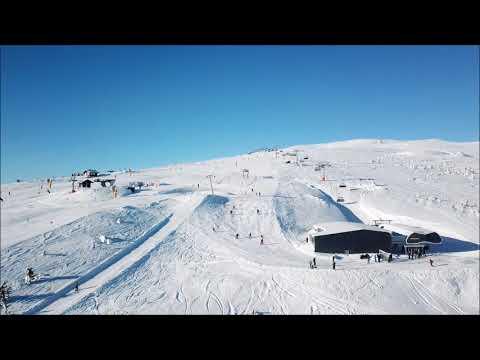 drone Norefjell wonderland