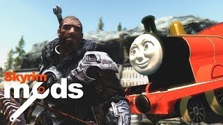 Thomas the Tank Dragon - Top 5 Skyrim Mods of the Week