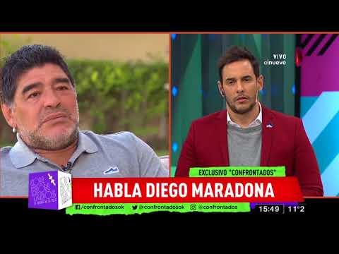 """Maradona: """"Mi sobrino es el 'cagón' más grande del mundo"""""""