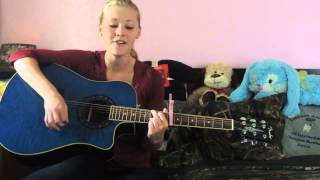 """God Made Girls"" Raelynn acoustic cover by Emilie Rhoads"