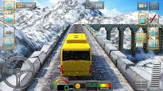 Bus Driver 3D Hill Station Android Gameplay #1