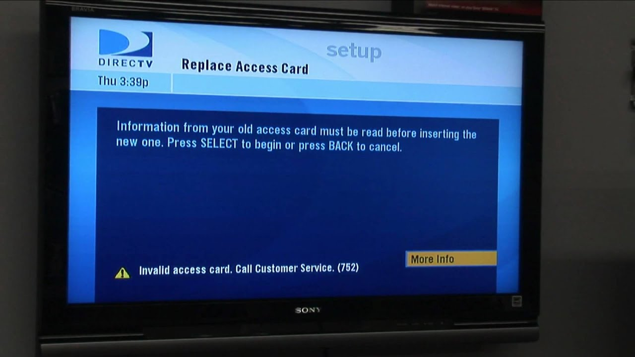 Direct Tv Installation How To Program A Directv Card