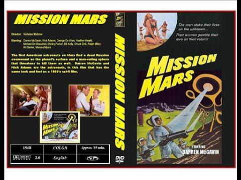 Mission Mars 1968 si-fi USA