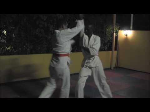 Aikido Practice at Kampala, Uganda on 10th Sep., 2016