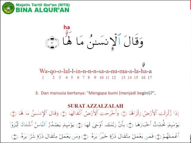 Asbabun Nuzul Surat Az Zalzalah Alquranmulia
