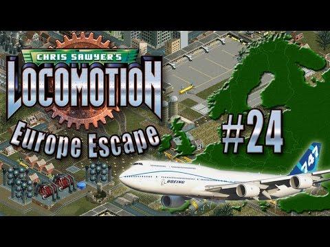 Chris Sawyer's Locomotion: Europe Escape - Ep. 24: AIRPORT ISLAND
