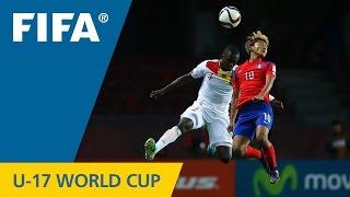 Highlights: Korea Republic v. Guinea - FIFA U17 World Cup Chile 2015