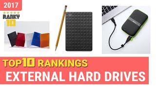 External Hard Drives Top 10 Rankings, Reviews 2017 & Buying Guides