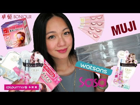 Hong Kong Beauty Haul | Where to shop for beauty items in Hong Kong