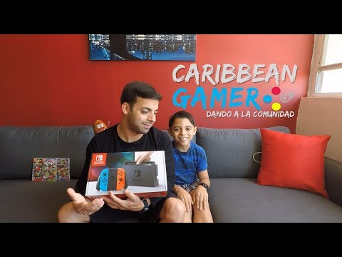 Dando a la Comunidad un Nintendo Switch | Caribbean Gamer