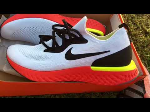 ae871f4ce392 More Nike Epic React Flyknit shoe review my newest pair - YouTube
