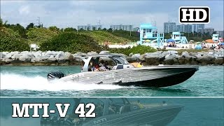 mti v 42 with quad mercury 350 s running out