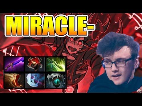 Miracle- Dota 2 [Shadow Fiend] 1000 GPM - 1 Kill Per Minute Full Gameplay
