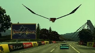 Ridge Racer Type 4 - Giant Eagle Easter Egg