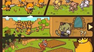 Ударный отряд котят мультик игра для детей про кошек strike force kitty от Фаника
