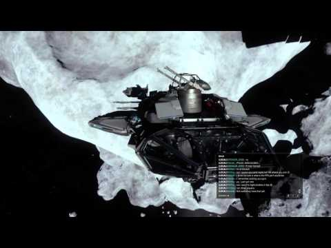 Star Citizen Black Box from blow up ship and the coolest bug I've seen, He's walking on the star's