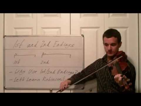 Violin Sheet Music Tips  How to Read First and Second Endings