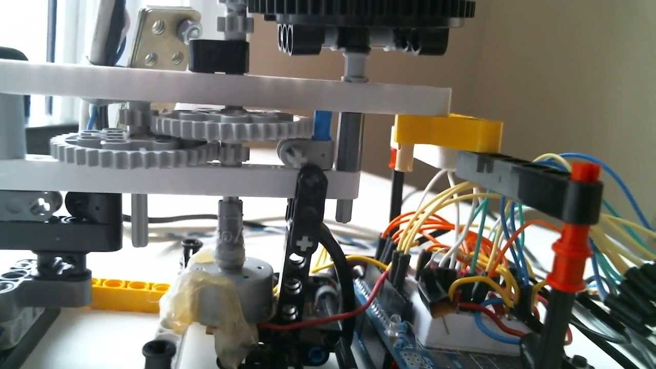 Arduino rubber band turret doovi