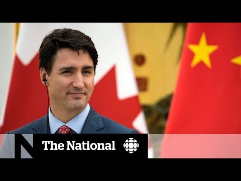 Trudeau visits China for second time as PM
