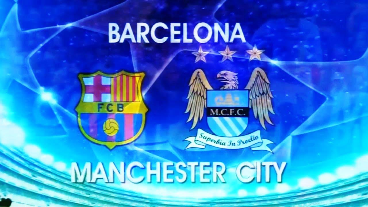 Resultado de imagem para Barcelona x Man City 2016