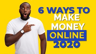 6 Ways To Make Money Online [Make $100 a Day Online]