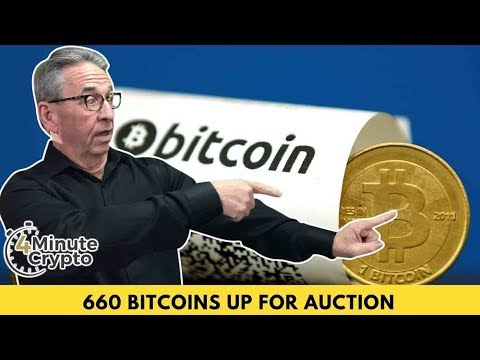 Over 600 Confiscated Bitcoins Up For Auction