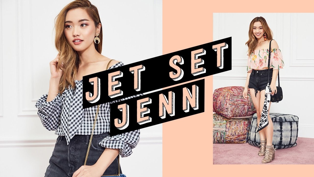 jet set jenn festival beauty kit lookbook youtube. Black Bedroom Furniture Sets. Home Design Ideas