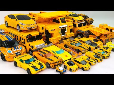Yellow Color Transformers Carbot Tobot MiniForce MachineRoBo 23 Vehicle Transform Robot Car Toys