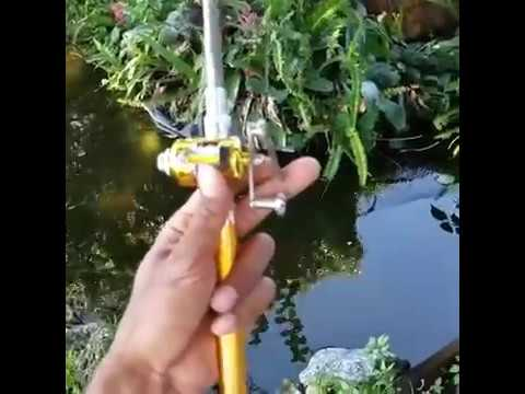 PORTABLE MINI FISHING ROD