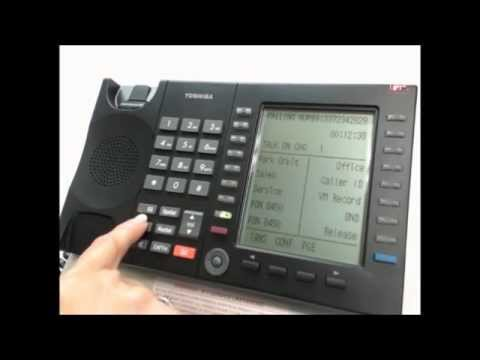 Toshiba VIPedge User Phone Training