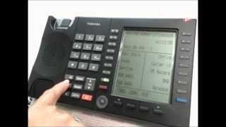 Toshiba VIPedge User Phone Training