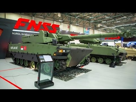 Turkish-Indonesian Made Battle Tank Unveiled in Istanbul