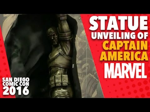 Captain America Statue Unveiling on Marvel LIVE! at San Diego Comic-Con 2016