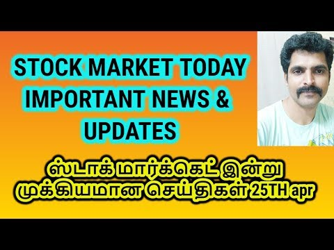 Stock Market Today - Morning Updates and News | Stock Results - Apr 25th