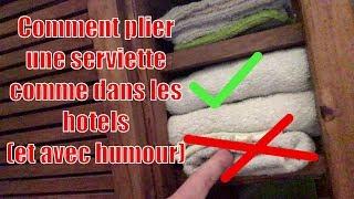 Pliage Konmari Serviettes De Toilette Et Torchons