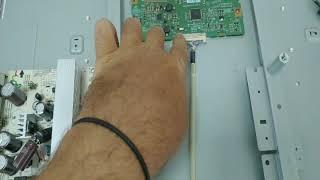 Conserto TV LG, tela escura