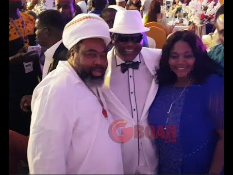Sad! See Late Nigerian Music Legend, Ras Kimono At Sir Shina Peters 60th  Brithday Party Be4 He Died