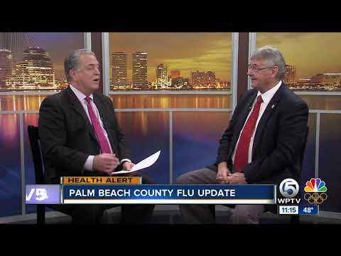 Florida Department of Health gives update on flu in Palm Beach County