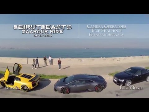 Beirut beasts Super cars Ride