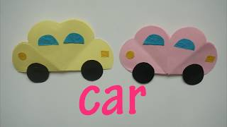 Father's day dad Gift - Car gift card easy to do with kids